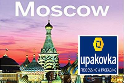 Upakovka Moskova2022 Ambalaj, Paketleme Ekipmanları Fuarı