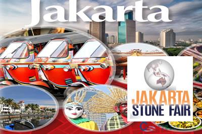 Jakarta Stone Fair 2021 Mermer, Doğal Taş ve Taş İşleme Makinaları Fuarı