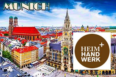 Heim+Handwerk Münih 2021 Mobilya ve İç Dekorasyon Fuarı