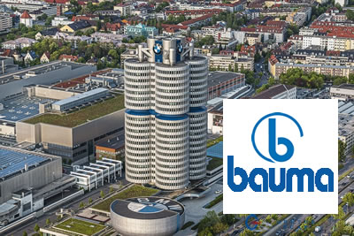 Bauma Münih 2022  İnşaat ve İş Makinası Fuarı