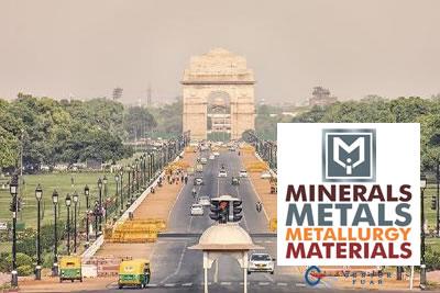 MMMM Yeni Delhi 2022 Mineral, Metal ve Metalurji Fuarı