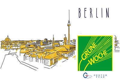 Grüne Woche Berlin 2022 Gıda, Yiyecek ve İçecek Fuarı