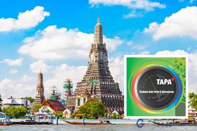 Tapa Bangkok 2020 Otomotiv Endüstrisi Yedek Parça Fuarı