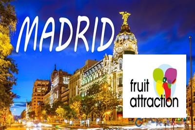 Fruit Attraction Madrid 2021 Taze Meyve, Sebze ve Gıda Fuarı