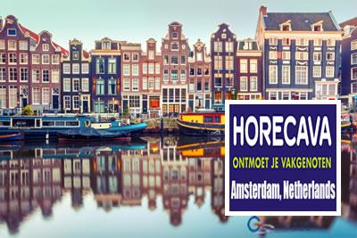 Horecava Amsterdam 2022 Otel ve Catering, Mağaza Dizaynı Fuarı
