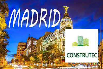 Construtec Madrid 2022 İnşaat ve İnşaat Makinaları Fuarı