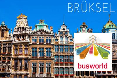 Busworld Europa Brüksel 2023 Otobüs, Minübüs ve Otobüs Yedek Parça Fuarı