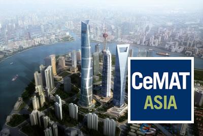 Cemat Asia 2021 Lojistik,Taşıma ve Depolama Teknolojileri Fuarı