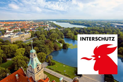 Interschutz Hannover 2022 Güvenlik, Afet Kontrol Fuarı