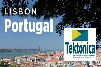 Tektonica Lizbon 2021 İnşaat, İnşaat Teknolojisi ve Ekipmanları Fuarı