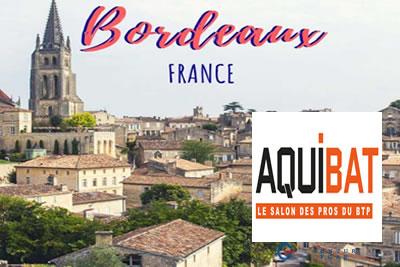 Aquibat Bordeaux 2022 İnşaat ve İnşaat Makinaları Fuarı