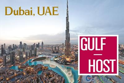 Gulfhost Dubai 2021 Otel ve Catering, Mağaza Dizaynı Fuarı