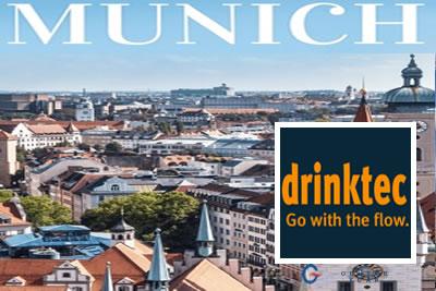 Drinktec Münih 2021 Uluslararası İçecek ve Ambalajlama Fuarı